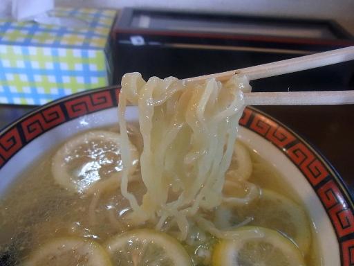 中太の乱切りヤンキー麺