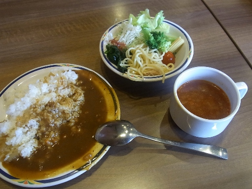 サラダ・カレー・スープ