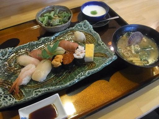 特上にぎり寿司御膳