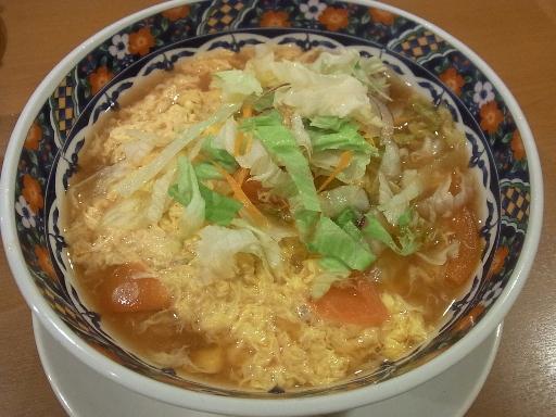 トマトとタマゴ拉麺