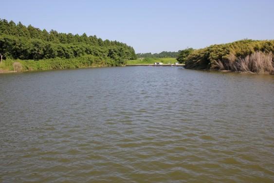 東側の釣り場