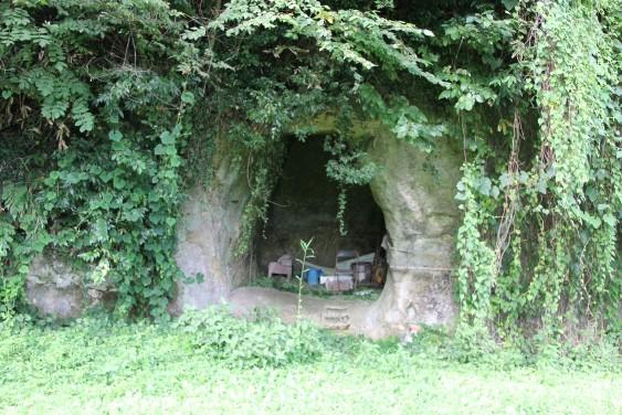 幡バッケ横穴墓