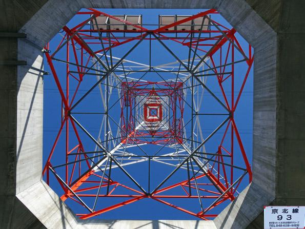 京北線93号鉄塔の結界