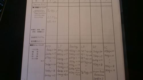 3.20記録表
