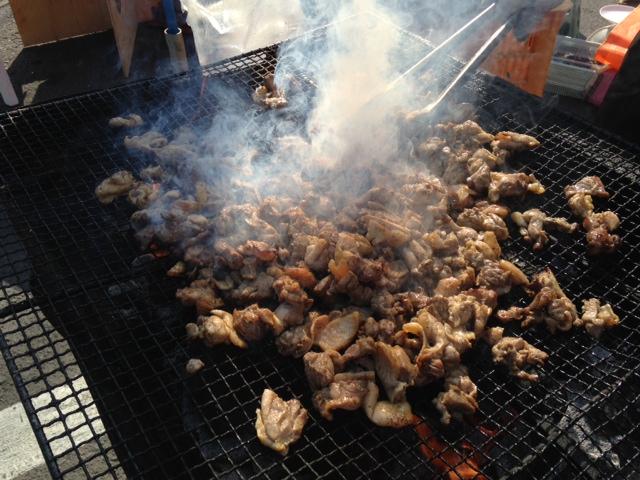 6鶏炭火焼き