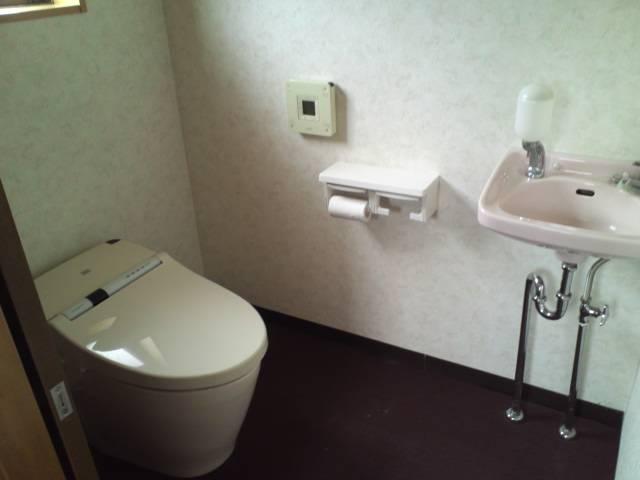 トイレ・手洗中里テナント