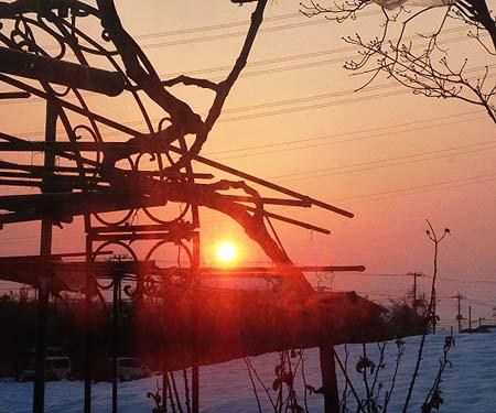 週明けの日の出