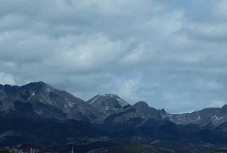山に影・・・風