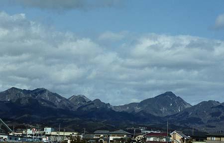 暖かさの後の榛名山