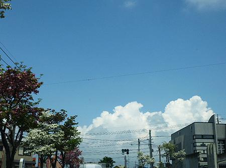 まるで夏雲
