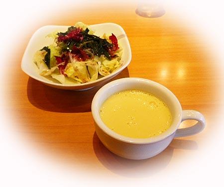 海草サラダ&コ-ンス-プ