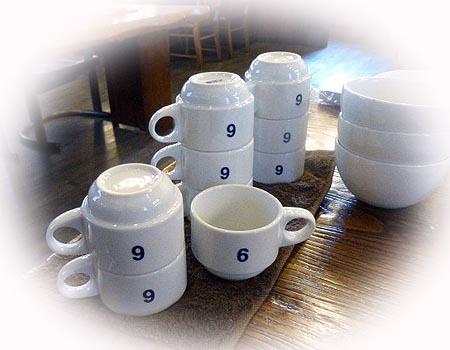 コ-ヒ-のティスティングカップ