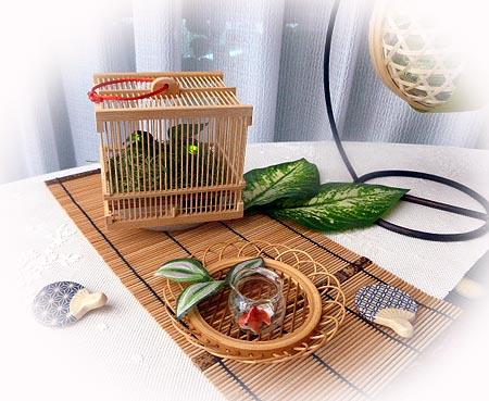 虫籠&金魚鉢