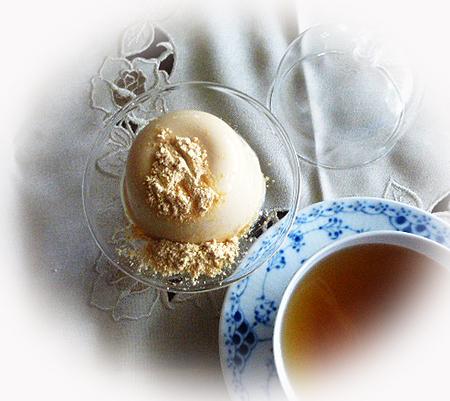 豆乳プリン&ニルギリ