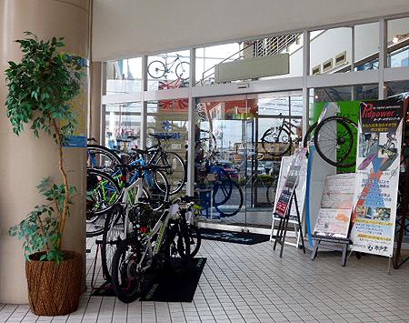 店子さんは自転車屋さん