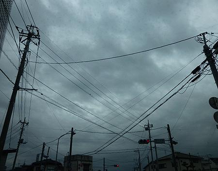 嵐の前の・・・