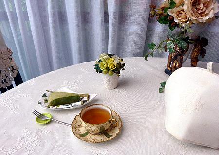 抹茶ミルククレ-プ・