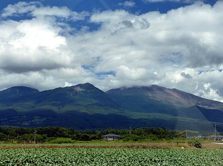 御代田より浅間山