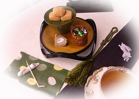 ニルギリ&きなこ餅