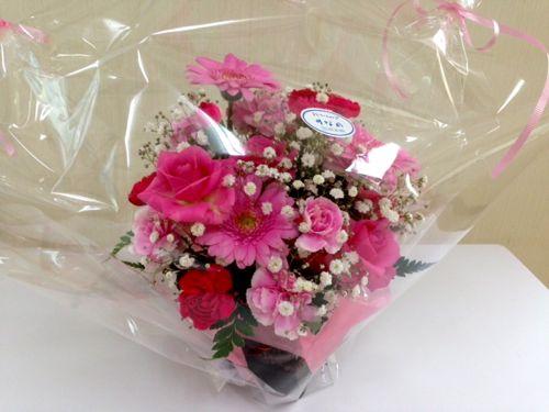 ななピンクのお花