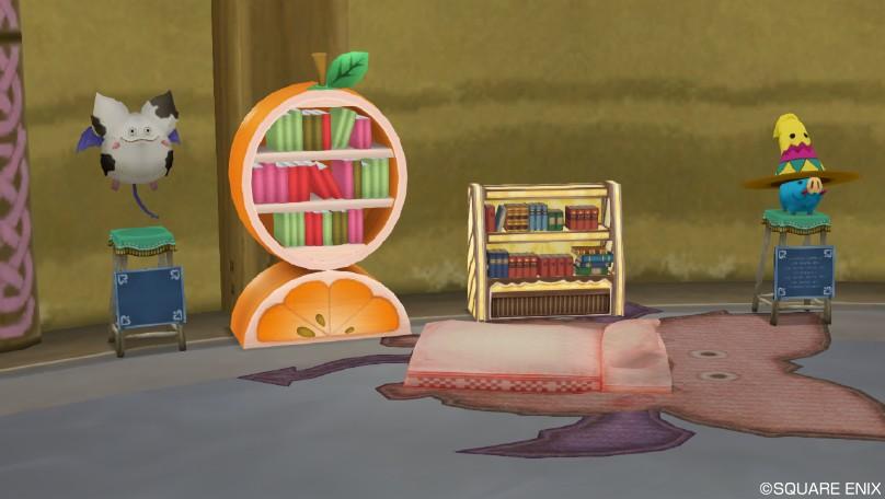 オレンジとお菓子と