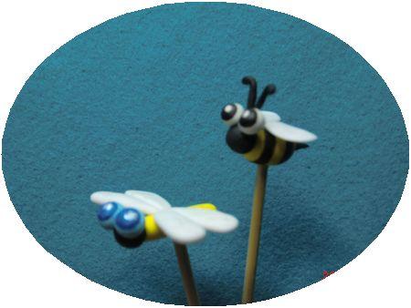 ピックとんぼ蜂