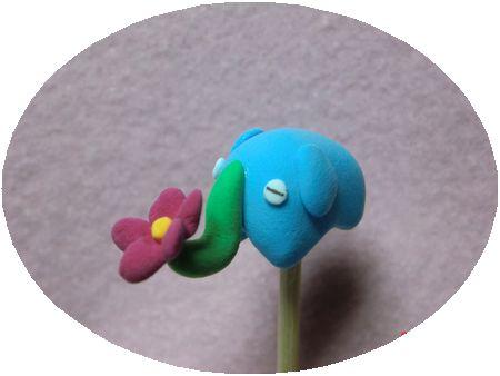 ぞうの鼻が花