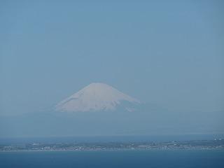 鋸山富士山2014年3月
