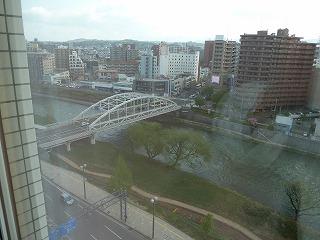 2014年5月盛岡ホテルからの風景