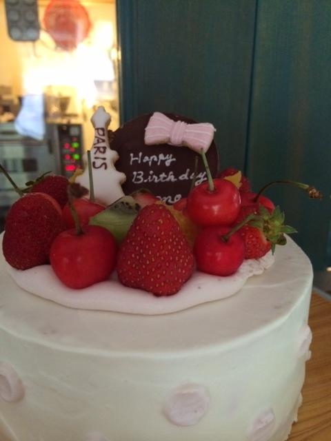 もねちゃんのケーキ1