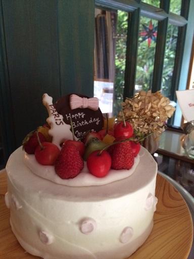 萌音ちゃんのケーキ3