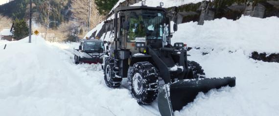 とある自衛隊の除雪(檜原村)image