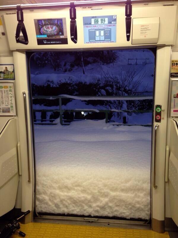 とある電車からの風景(藤野)image