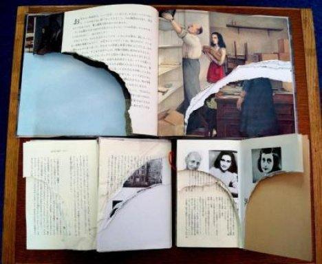 アンネの日記破損事件image