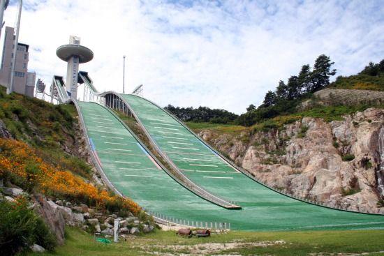 平昌関連(スキージャンプ台2)image