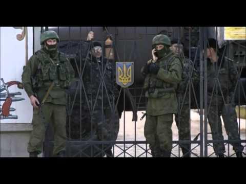 ウクライナ情勢(ウクライナ軍の前のロシア兵)image