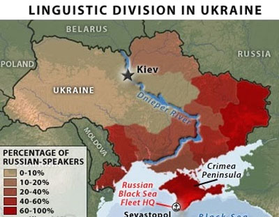 ウクライナ情勢(使用言語地図2)image