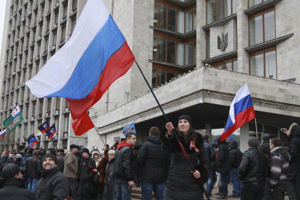 ウクライナ情勢(親ロシアの人々)image