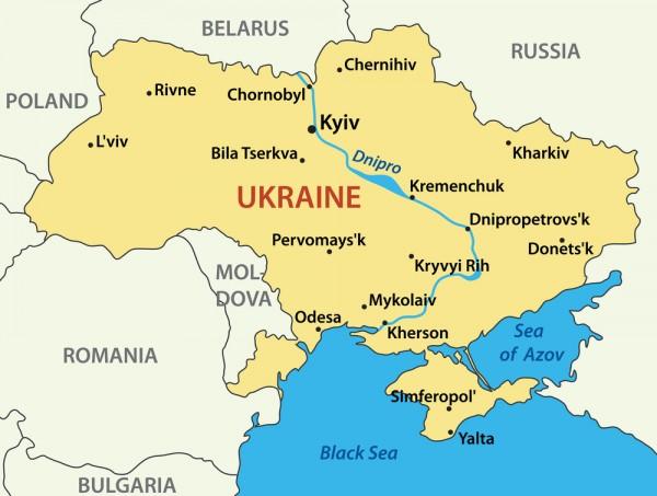 ウクライナ情勢(地図)image
