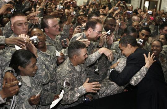オバマさんイラクへ行くimage