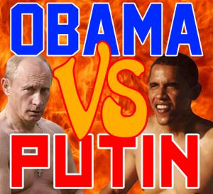 オバマ対プーチンのロゴimage