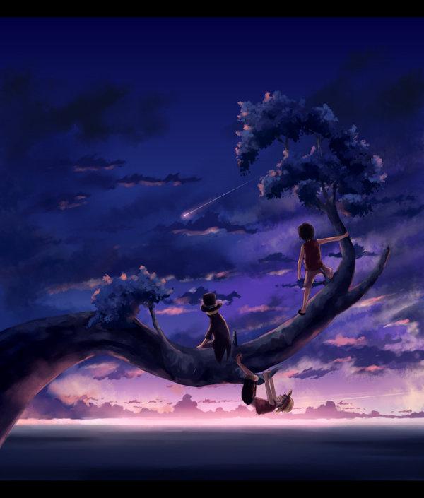 とある少年たちの木登りなimage