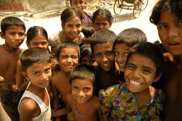 とある子供たちの笑顔(バングラディシュ)image