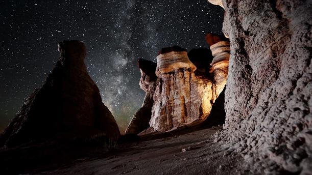 とある自然のなかの星空image