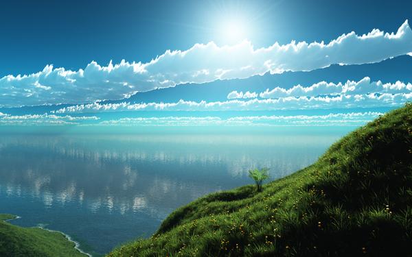 とある春の雲とかimage