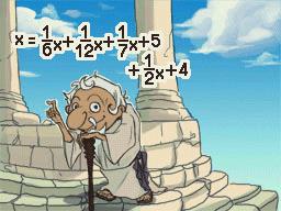 とある問題の解答式image