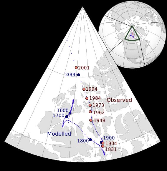 とある地軸の動き(polardrift)image