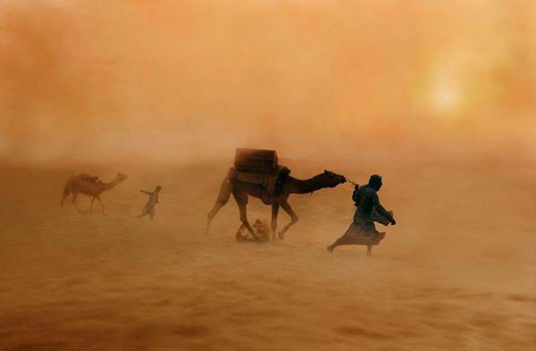 とある非日常な情景(砂漠)image