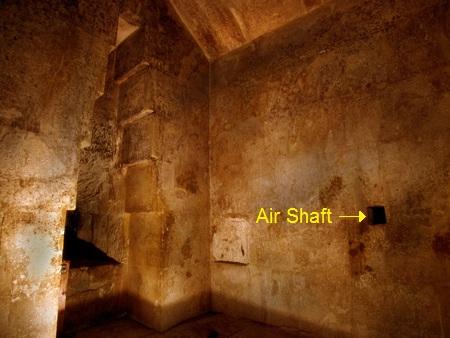 ピラミッド(女王の間とシャフト)image