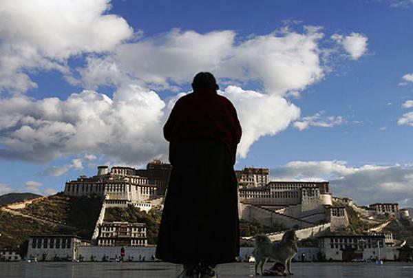 中国とチベット(祈り)image